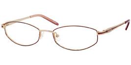 Joan Collins JC9743 Eyeglasses in Gold/Burgundy - $72.95