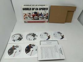 World Of Ea Sports 2004 Pc Game Set Nba Live Nhl Nascar 100% Complete W/ Keys - $34.64