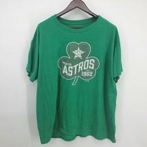 Houston Astros MLB Fanatics Men's Green St. Patrick's Day T-Shirt 3XL - $11.28