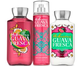 Bath & Body Works Hibiscus Guava Fresca Trio Gift Set  - $45.95