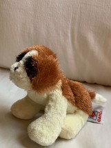 "Ganz Webkinz FUZZY ST. BERNARD DOG 8"" Plush STUFFED ANIMAL Toy Used Nice... - $14.03"