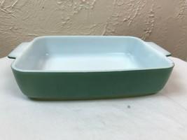 Pyrex 1953 HEINZ Promotional Green 1-1/2 qt. Open Casserole Dish 507-B (2) - $14.92