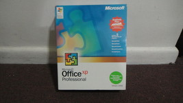 Microsoft Office XP Professional 2002 + Manual & Box. MORE!! - $14.60