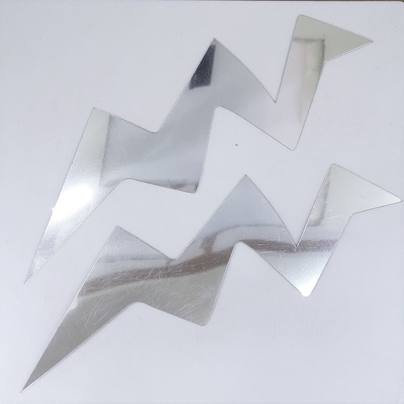 Bolt Cutouts Plastic Shapes Confetti Die Cut FREE SHIPPING
