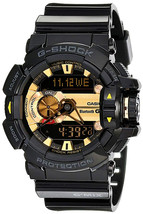 Casio G-Shock Men's GBA400 G'Mix Rotary Switch BLE Watch, Black/Gold, On... - $447.73