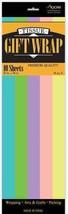"Case 24 Packages 20"" x 20"" TISSUE PAPER 10 sheets per pkg Choice of Colors - $39.25"