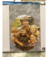 Rare 2000 Hallmark tear-jerker Christmas movie Papa's Angels DVD Fast Ship  - $59.95