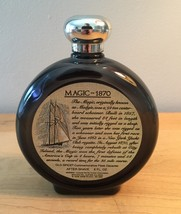 70s Old Spice commemorative flask after shave bottle (Magic 1870) image 2