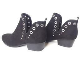 Circus Sam Edelman Paula Black Studded Grommets Ankle Booties Boots Festival 6 image 2
