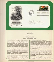 World War II, 1943 Turning Table, 1st Day of Issue, 1993 29 cent - $4.00