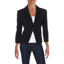Tommy Hilfiger Black Womens Size 10 Textured Double-clasp Jacket $129 - $34.65