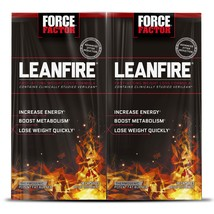 Force Factor LeanFire Thermogenic Fat Burner (30 ct., 2 pk.) - $41.91
