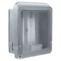 Commercial Electric 2-Gang Extra Duty Non-Metallic Low Profile While-In-... - $13.09