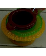 Circo Jungle Collection Pouring Cups - Set of 3 - Nesting - Plastic - BR... - $4.94