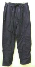 Scrub Pants Premier/Active Uniforms Navy 2XL Elastic Drawstring Bottoms ... - $13.55