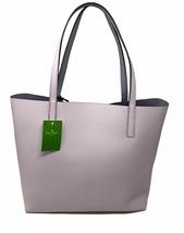 NWT Kate Spade Lakeland Marina Reversible Pink / Lavander Leather Tote WKRU5342 - $138.98