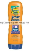 BANANA BOAT Sunscreen SPORT PERFORMANCE Active Dry Protect 8oz Bottle SP... - $10.99