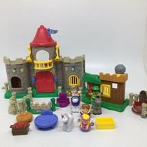 Fisher Price Little People Lil Kingdom Castle Palace Set & Watchful Robi... - $56.09