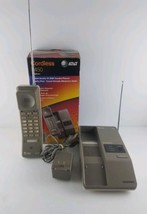 AT&T 5450 Cordless Handheld Telephone w/ Box Intercom Pager Vintage 1990 - $59.99