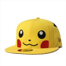 New Era Pokemon collaboration cap 59FITY Pikachu Cyber Yellow - $100.99