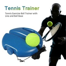 Solo Tennis Trainer Kit Training Power Base Multi Skill Volley Sports At... - $21.77