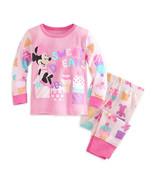 "Disney Store Baby Girls Minnie Mouse ""Sweet Dreams"" PJ Pals Pajama Set, ... - $16.99"