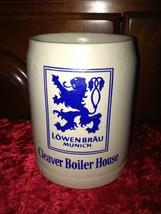 Cleaver Boiler House LOWENBRAU MUNICH German Beer Mug Stein 0.5 L - $18.99