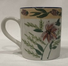 Royal Norfolk Ceramic Coffee Mug Floral Cup - $18.80