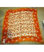 Adrienne Vittadini Floral / daisy  100% SILK - new with tag - $24.65