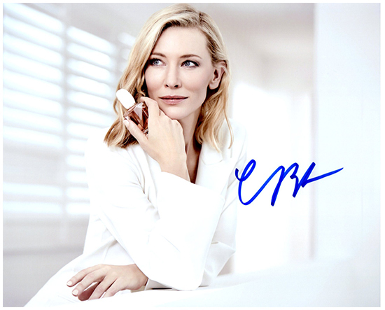 CATE BLANCHETT  Authentic Original  SIGNED AUTOGRAPHED PHOTO W/COA 1867