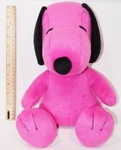 "Snoopy Purple - From Charlie Brown P EAN Uts Oem 13"" Plush Toy Figure Used - $34.88"