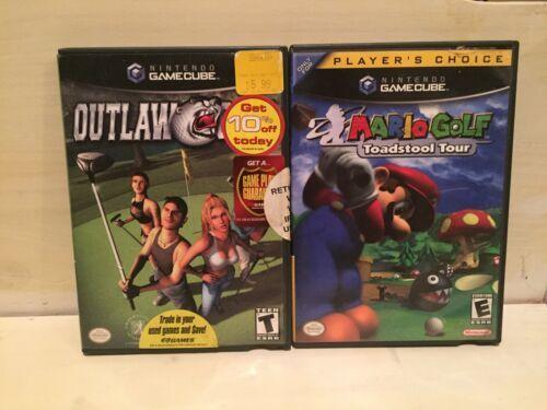 Mario Golf: Toadstool Tour Player's Choice & Outlaw (Nintendo GameCube, 2004)