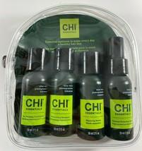 AVON CHI Essentials Hair Travel kit Shampoo, Cond.,Spray, Serum 2 Fl. Oz... - $9.89