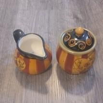 LANG Earthenware romance Creamer and bowl set - $36.76