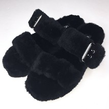 UGG Australia Womens Fuzz Yeah Slide Slippers Soft Sheepskin Shearling S... - $74.97