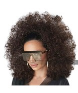 California Costumes 3/4 Curly Fall Afro Wig Women's Halloween Costume 70938 - $17.83