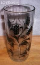 """HAZEL ATLAS GLASS-- BLACK WHEAT JOLLY JAR  6"""" - $7.95"""