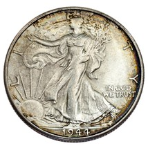 1944-S 50C Walking Liberty Half Dollar Choice BU Condition - $59.39