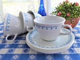 1970s 4 teacups snowflake garland corelle a thumb200