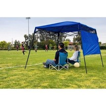 Instant Canopy Tent Blue Shadow Shelter Outdoor... - $106.99