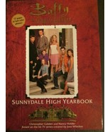 Buffy the Vampire Slayer: Sunnydale High Yearbook - $8.00