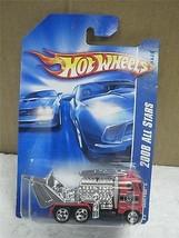 HOT WHEELS- SEMI FAST II- 2008 ALL STARS-RED TRUCK - NEW ON CARD- L149 - $4.65