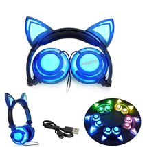 Gaming Headset Earphones with LED Lights Flashing Glowing Headphone For ... - $21.99+