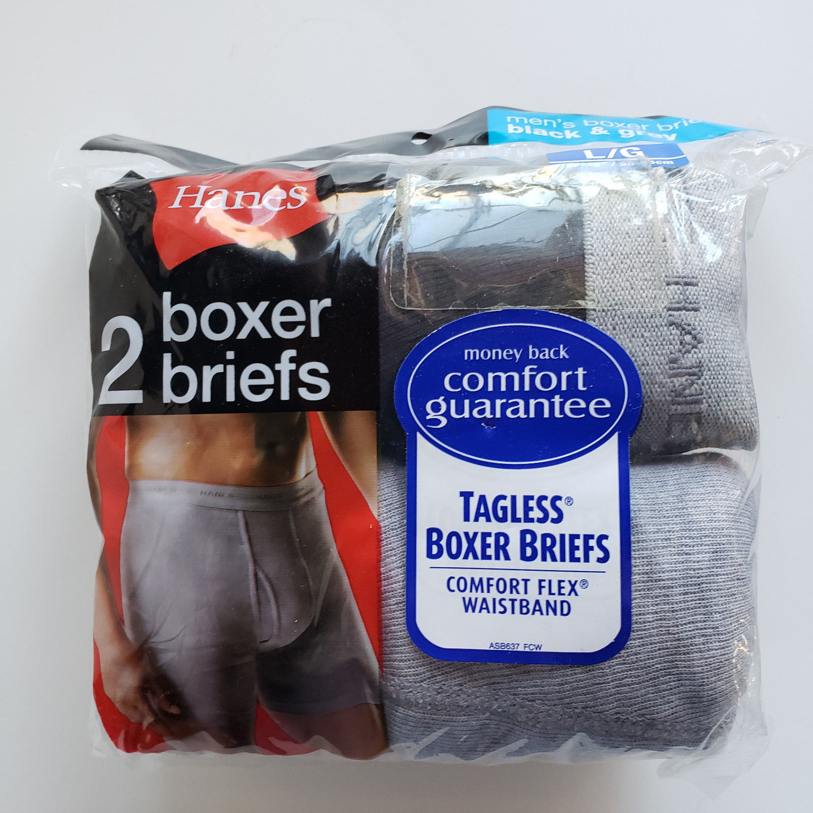 0f51ca753c80 Hanes Men's 2-pack Tagless Comfort Flex and 50 similar items. 57