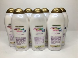 7 PACK OGX Extra Creamy + Coconut Miracle Oil Ultra Lotion, 19.5 Fl Oz NEW - $83.92