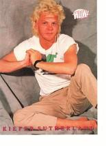 Laura Bell Thom Bierdz Kiefer Sutherland teen magazine pinup clipping barefoot