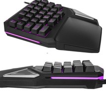 Gaming Keyboard T9 Pro Wired Professional Adjustable Mini keyboard 7 Col... - $1.159,57 MXN