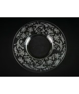 Fostoria Oriental Mayonnaise Underplate Only, Vintage Elegant Etched Gla... - $14.70