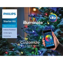 Philips Illuminate 25 Mini Lights Starter Kit App Controlled LED NEW - $69.99