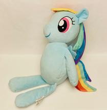"My Little Pony Friendship Is Magic Rainbow Dash huggable plush toy large 22"" - $15.00"